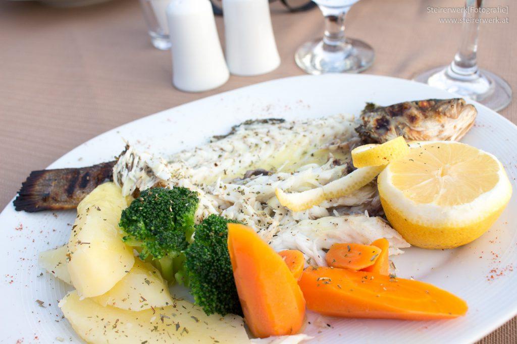 Fisch essen Griechenland