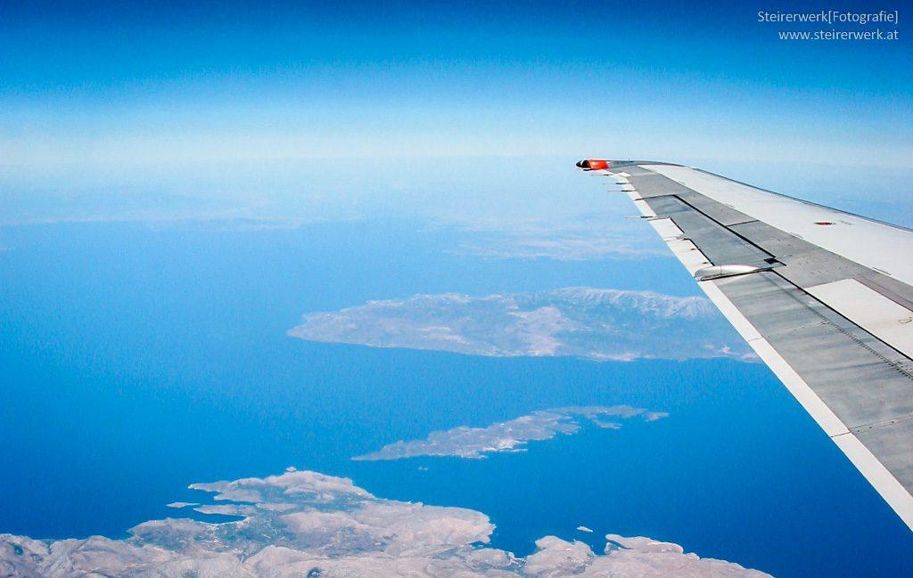 Flugreise Griechenland