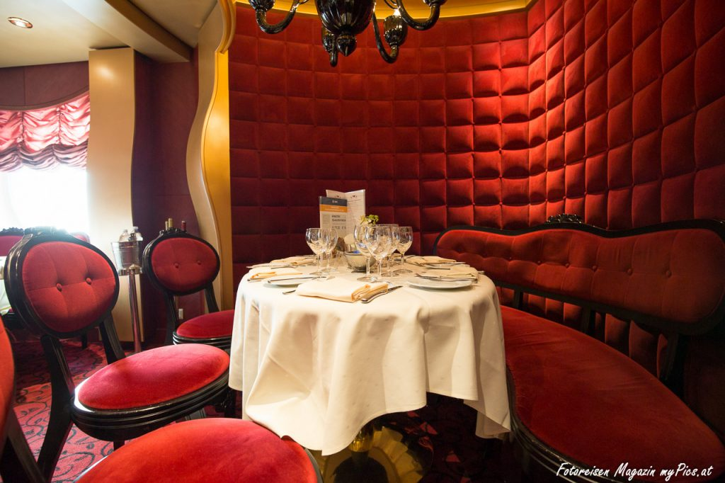 Abendessen Restaurant MSC Fantasia