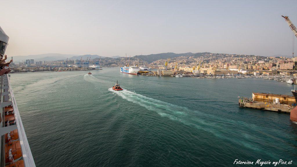 Genua Hafen