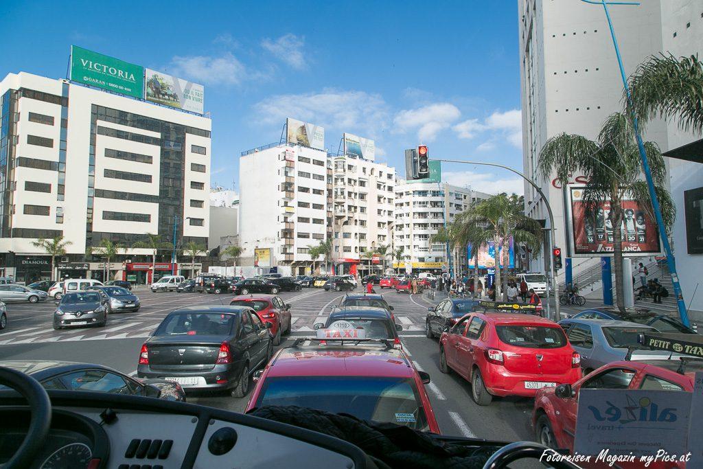 Verkehr Casablanca