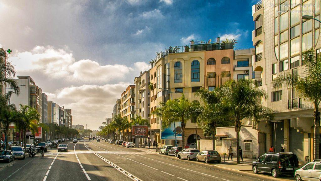 Casablanca Boulevard Geschäfte