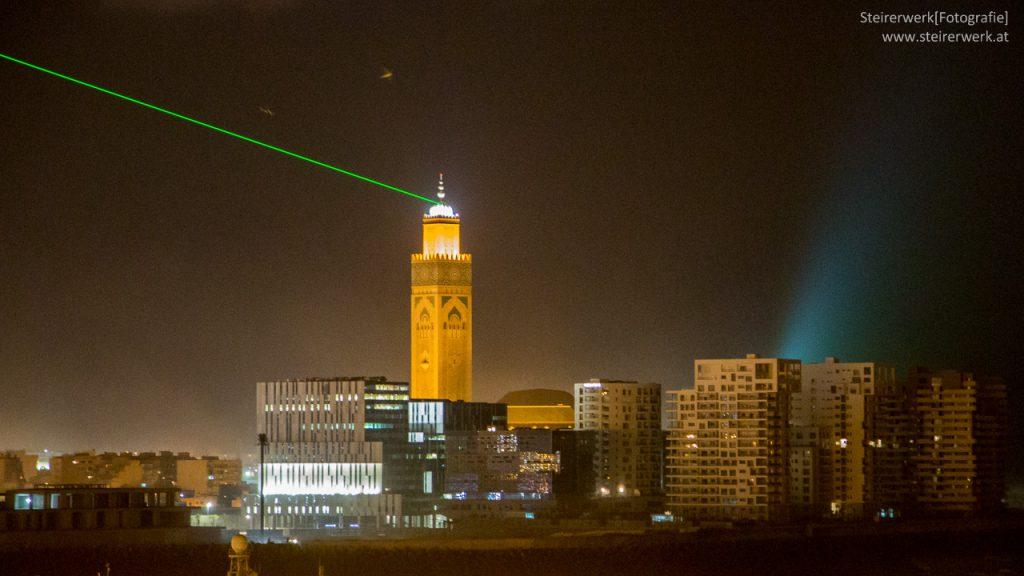 Hassan 2 Moschee Laser Casablanca