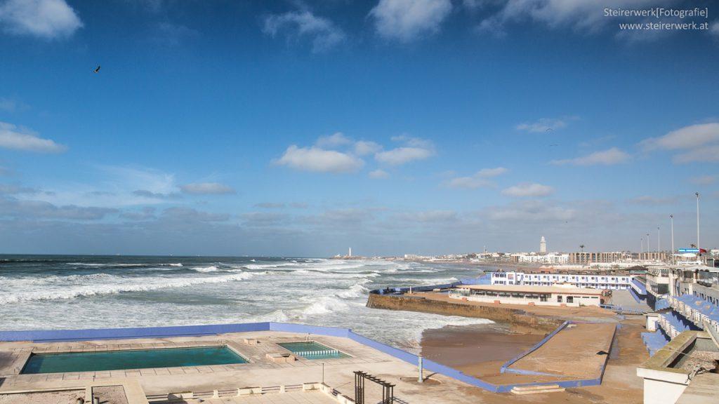 Corniche Casablanca Marokko