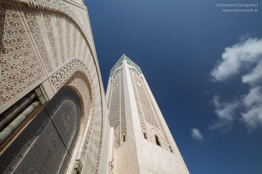 Eingang Moschee Hassan II