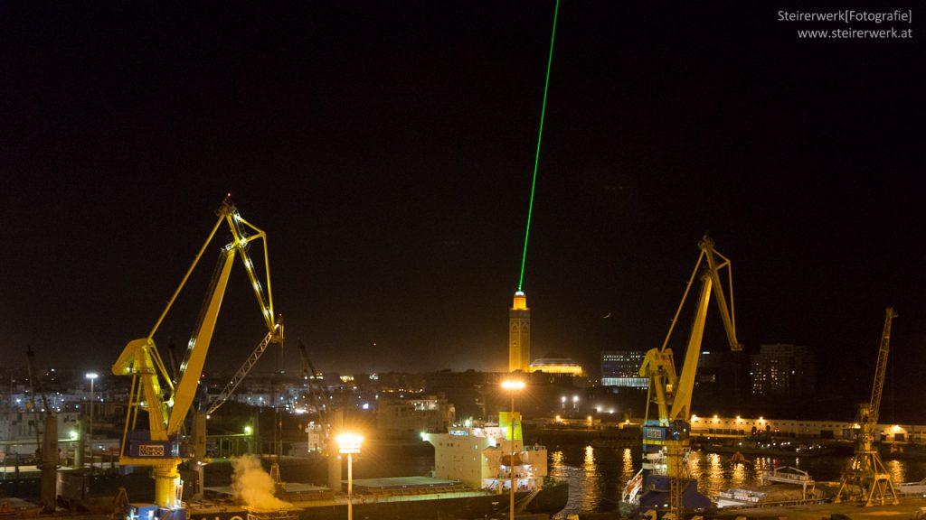 Hassan Moschee Laser