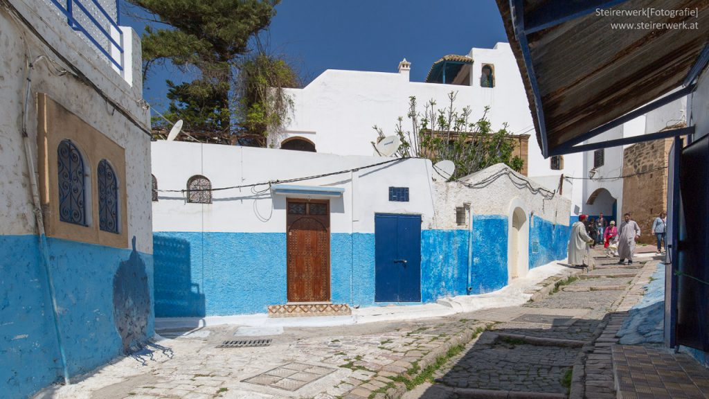 Kasbah des Oudaias Häuser