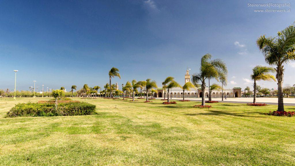 Park im Königspalast Rabat