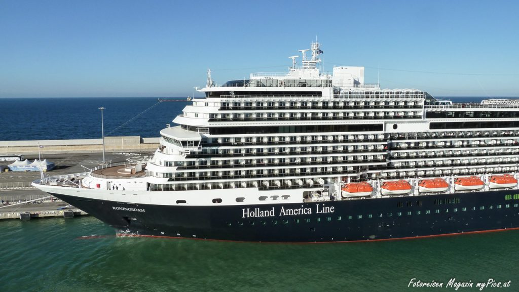 MS Koningsdam Kreuzfahrtschiff Holland America Line