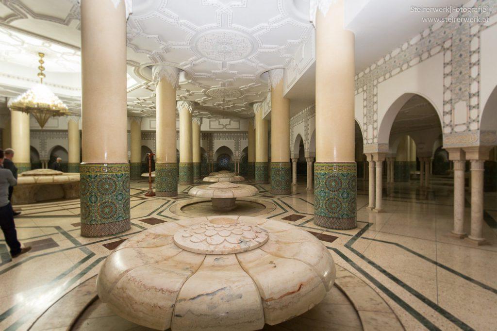 Waschräume Moschee Hassan II