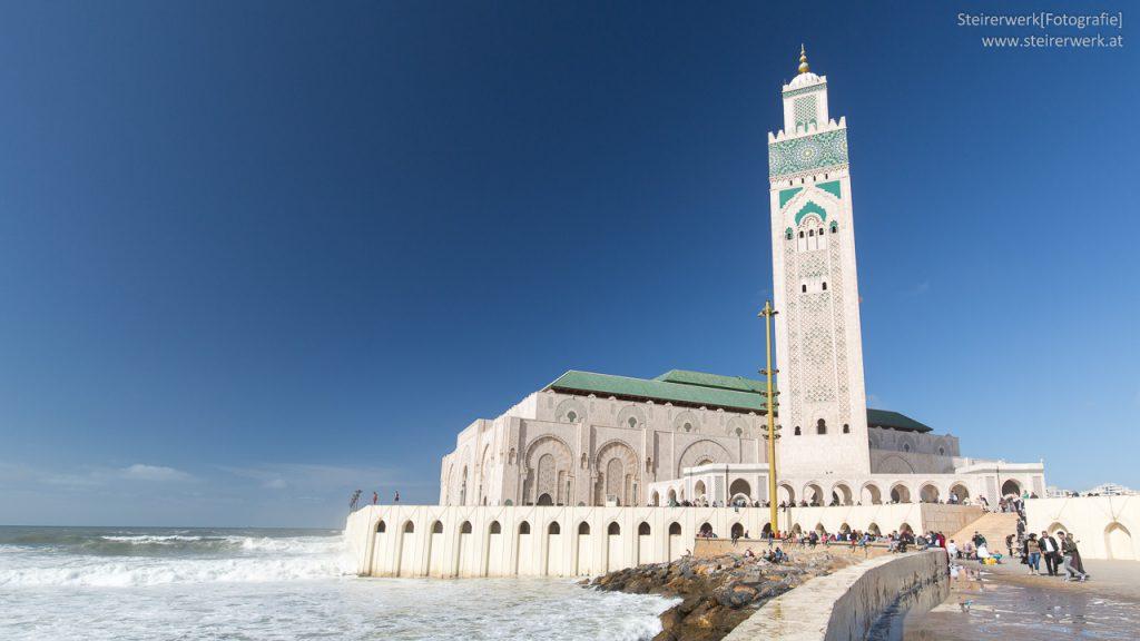 Moschee Strand Casablanca