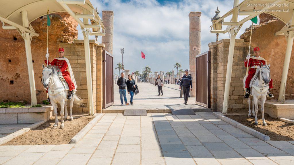 Rabat Wahrzeichen Wache