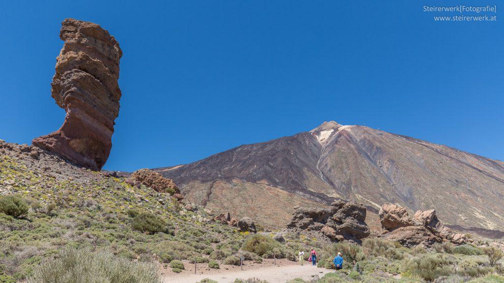 Roque Cinchado Teide Teneriffa