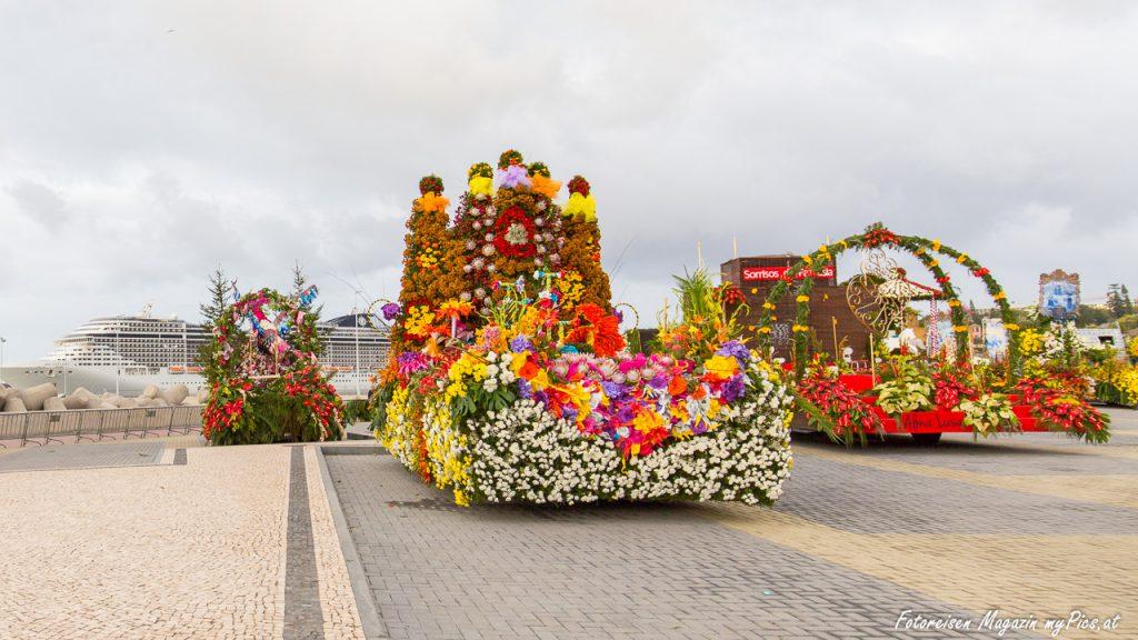 Blumenkorso in Funchal auf Madeira