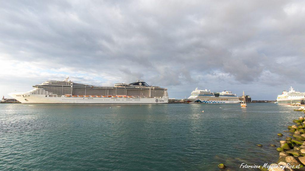 MSC Aida Kreuzfahrtschiffe Funchal