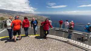 Skywalk Steilklippe Madeira