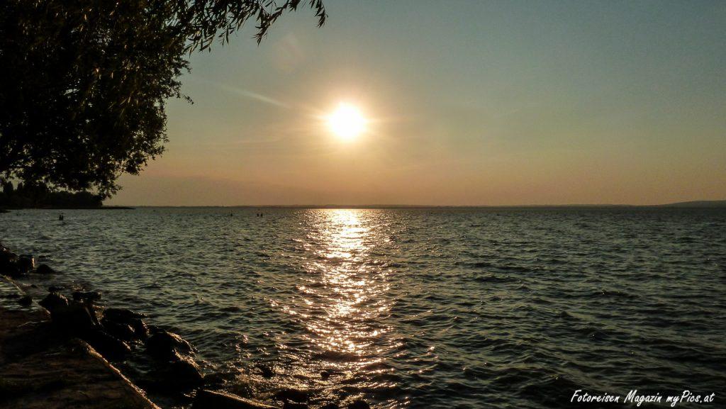Sonnenuntergang Balaton