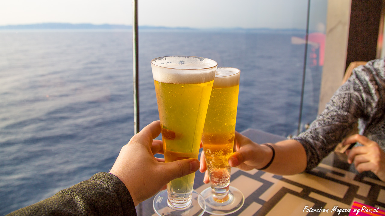 Lohnen sich Getränkepakete auf einer Kreuzfahrt - Getränkepreise