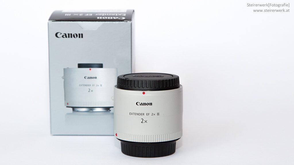 Canon Extender EF Kauf Test