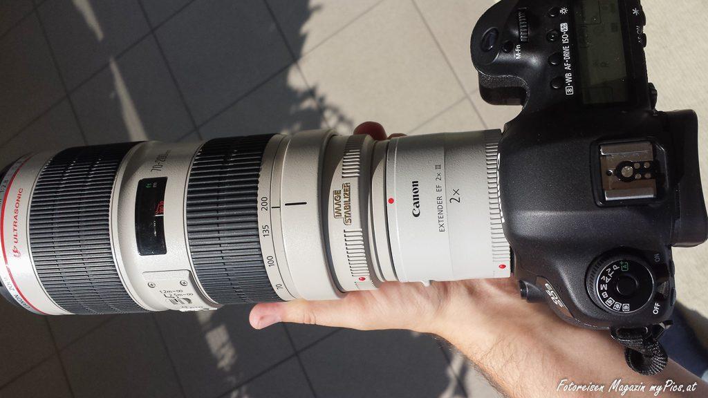 Teleobjektiv Konverter Fototest