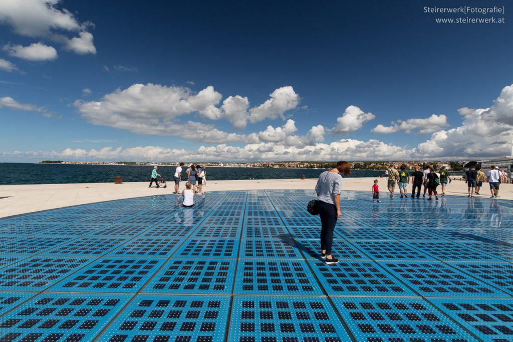 Lichtspiel Monument Zadar