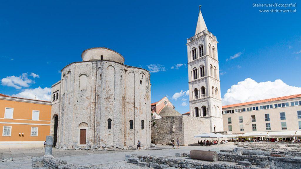 Wahrzeichen Zadar Kirche Donat