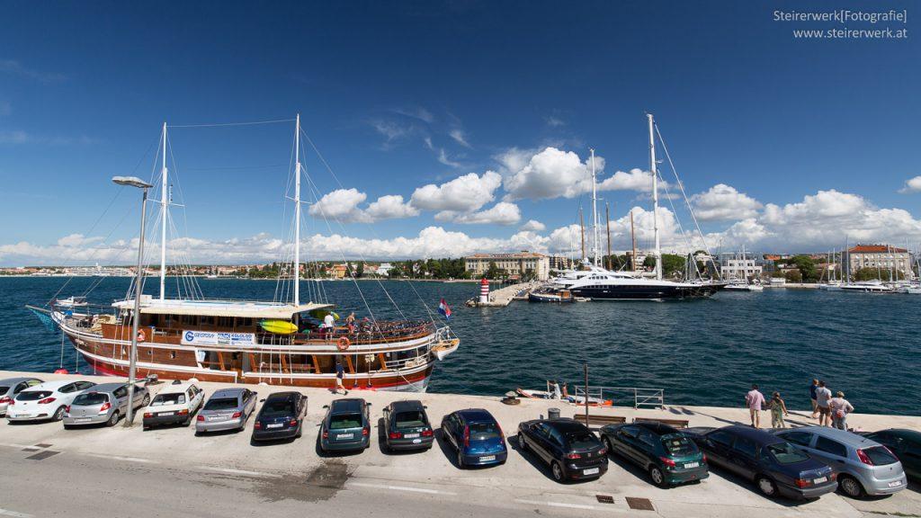 Zadar Hafen Schiffe