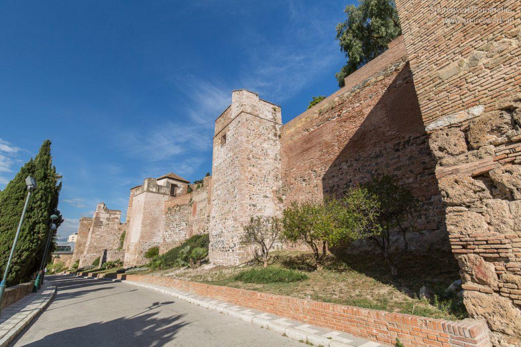 Alcazaba Festung Malaga