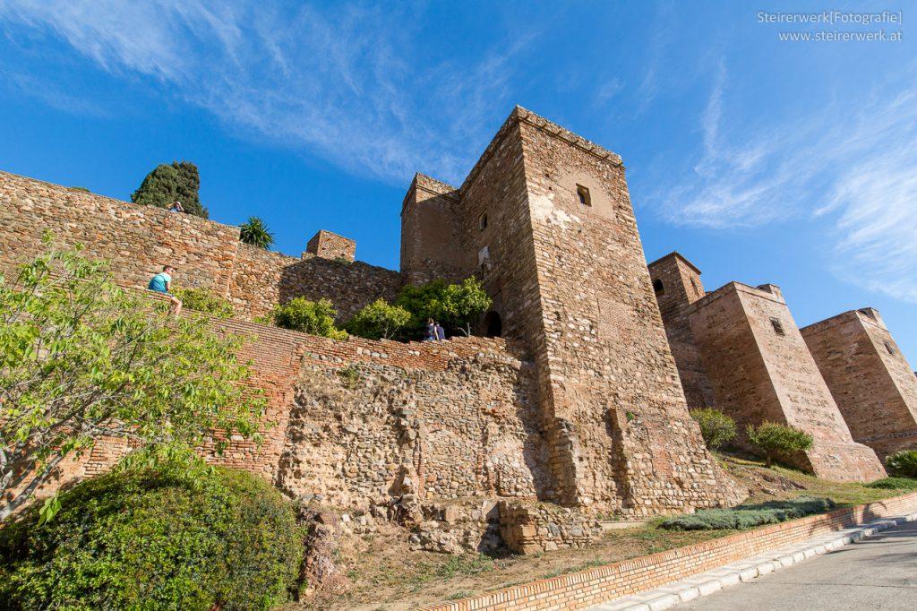 Alcazaba Festung Sehenswürdigkeit in Malaga
