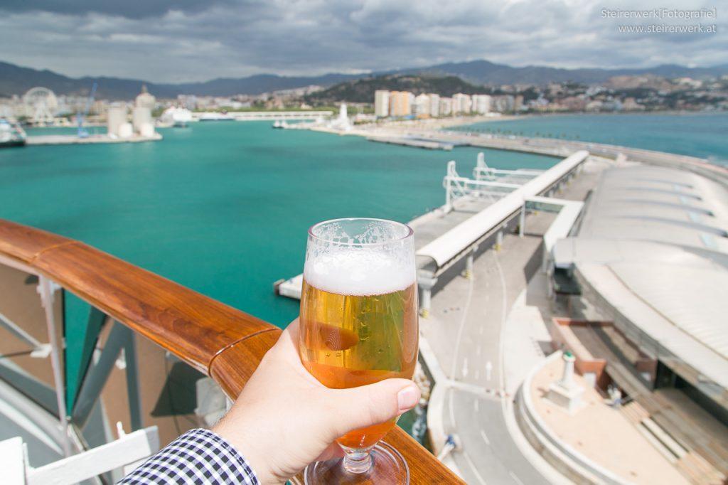 Bier Schiff Malaga