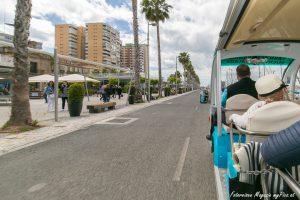 Bummelzug Hafen Malaga