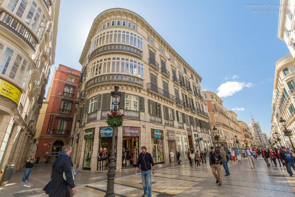 Calle Larios Einkaufsstrasse Malaga