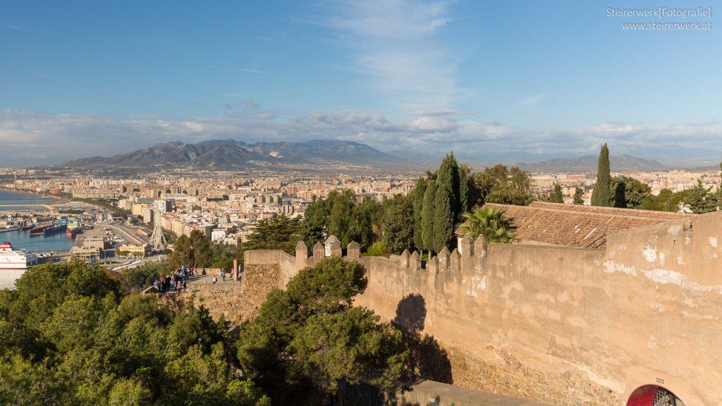 Gibralfaro Burg Malaga