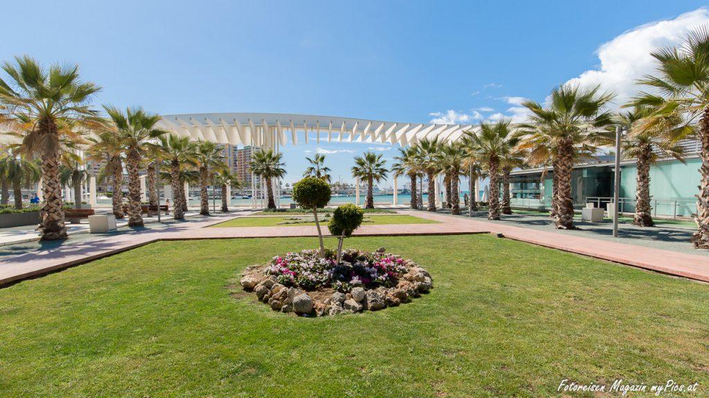 Hafenpromenade Malaga