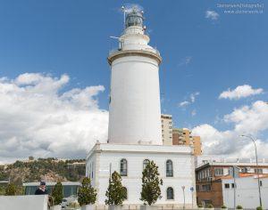 Leuchtturm La Farola de Malaga