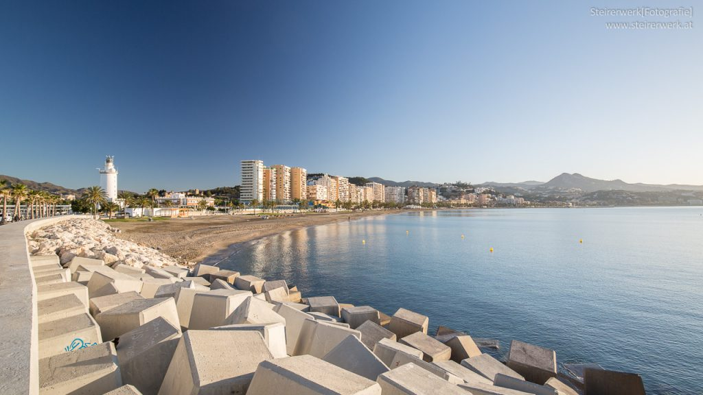 Malaga Strand Playa de La Malagueta