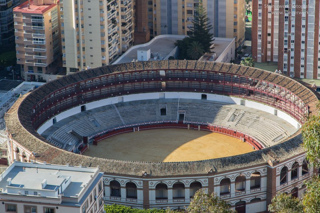 Stierkampfarena Malaga Plaza de toros de La Malagueta