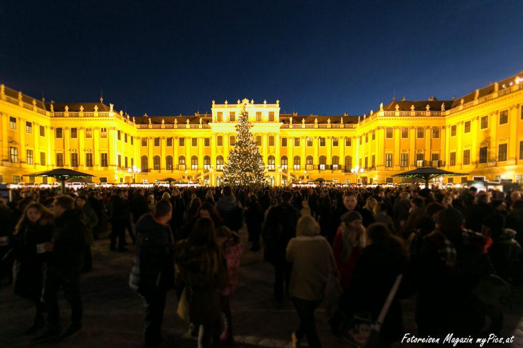 Schloss Schönbrunn Weihnachtsmarkt