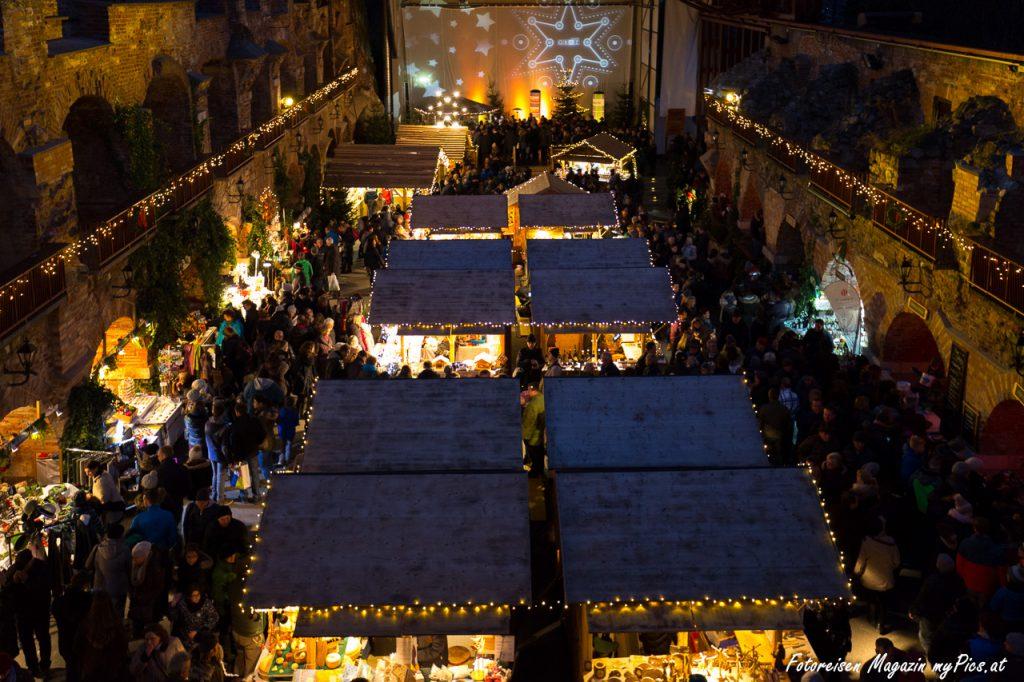 Schlossberg Graz Weihnachtsmarkt