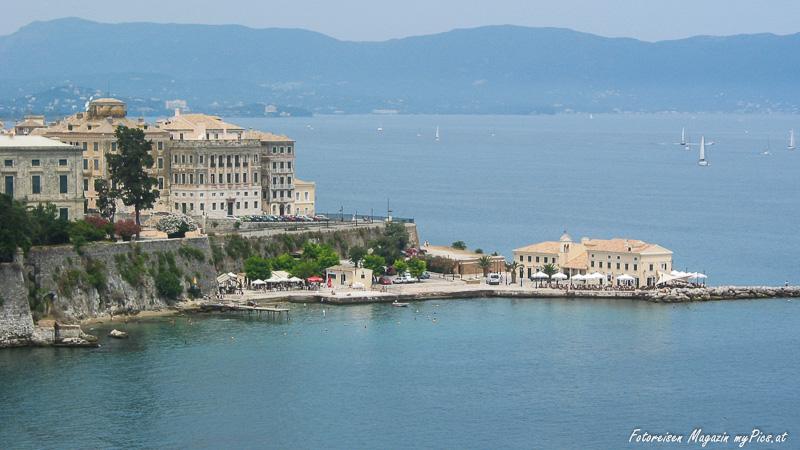 Stadt Korfu Sehenswürdigkeiten