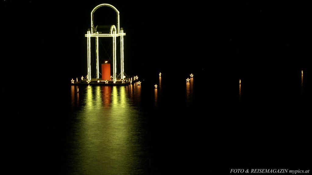 Advent Kerze Salzkammergut