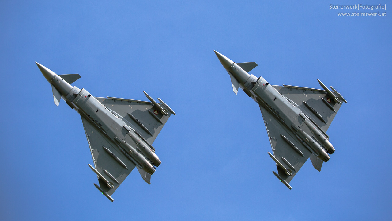 Eurofighter bei der Airpower