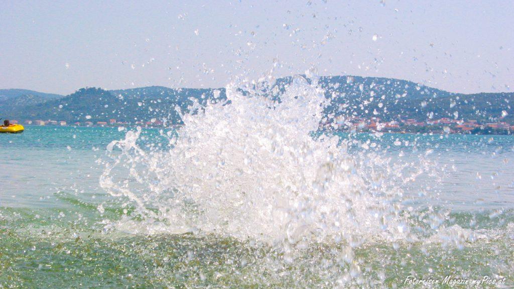 Badespaß im Meer