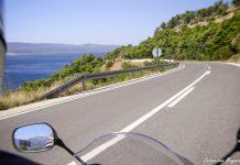 Motorradtour in Kroatien entlang der Küste