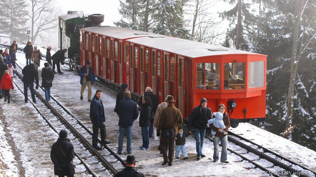 Schafbergbahn Winter
