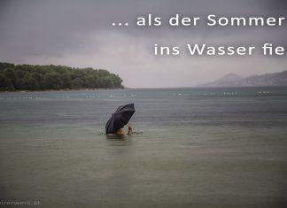 Sommer Wasser Regenschirm