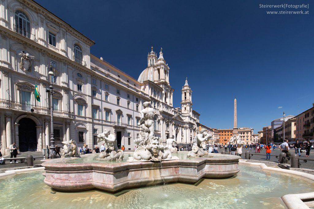 Fontana del Moro Mohrenbrunnen von Giacomo della Porta