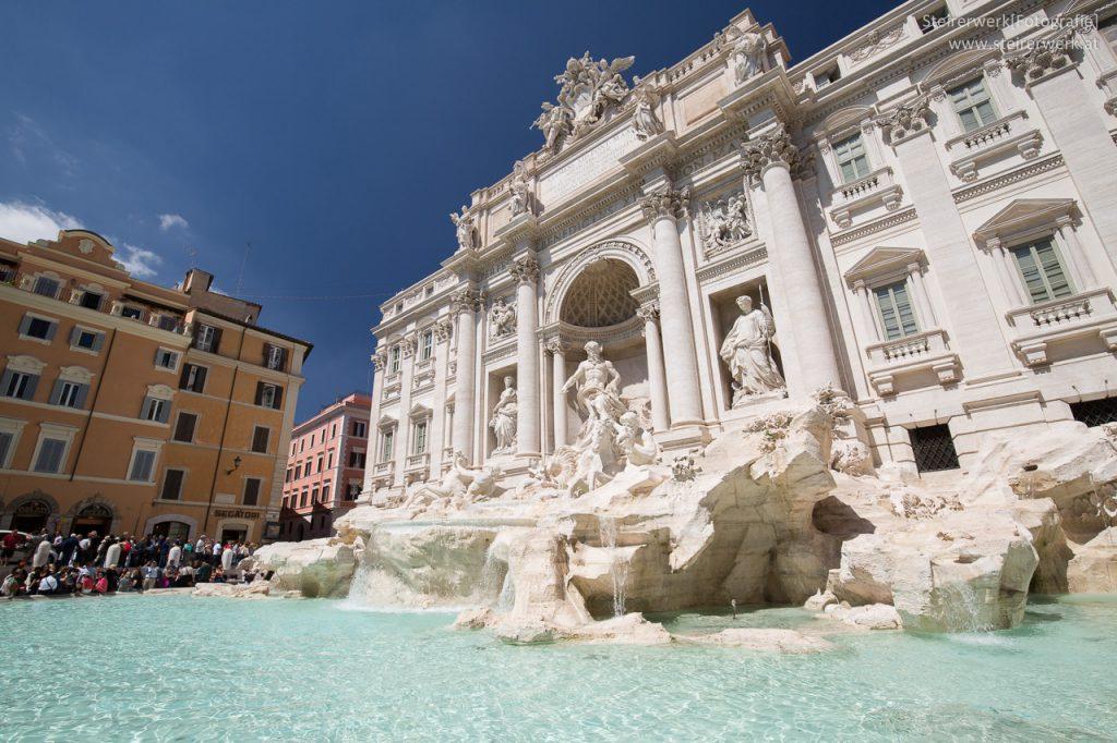 Sehenswürdigkeit Fontana di Trevi in Rom