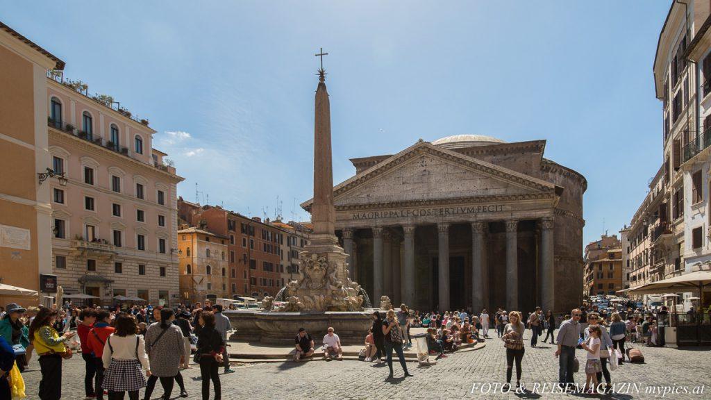 Pantheon Piazza della Rotanda Rom
