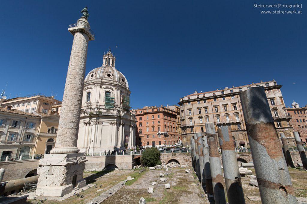 Trajanssäule Cäsarforum Rom